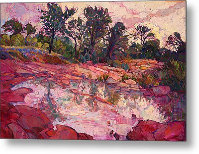 Hill Country Dawn Metal Print by Erin Hanson
