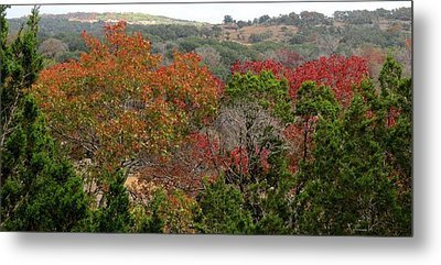 Metal Print featuring the photograph Hill Country Splash by David  Norman