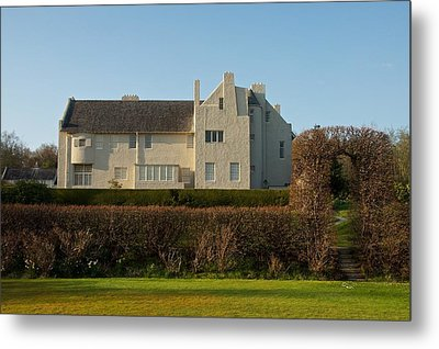 Hill House In The Evening Metal Print