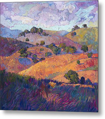 Hills Of Paso Metal Print