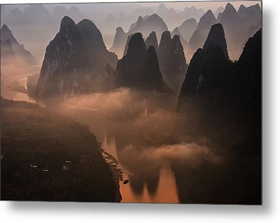 Hills Of The Gods Metal Print