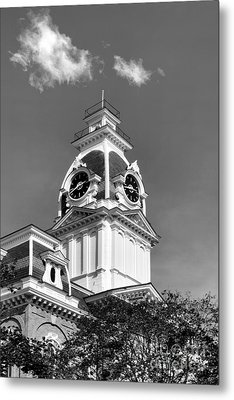 Hillsdale College Central Hall Cupola Metal Print by University Icons
