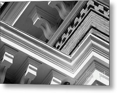 Hillsdale College Central Hall Detail Metal Print by University Icons