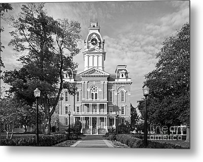 Hillsdale College Central Hall Metal Print by University Icons