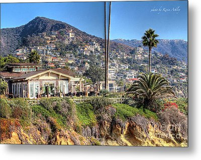 Hillside View Metal Print by Kevin Ashley