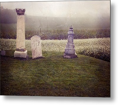 Hilltop Metal Print by Steven  Michael