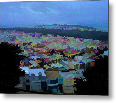 Hilltop View Metal Print by Bobbi Mercouri