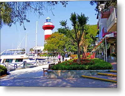 Hilton Head Lighthouse Metal Print