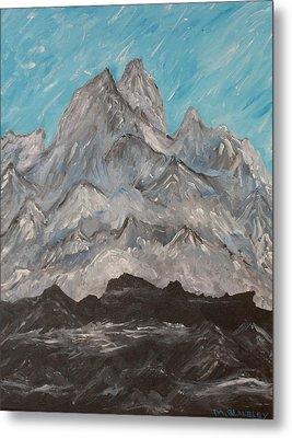 Himalayas Metal Print by Martin Blakeley