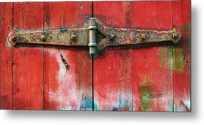 Hinged Metal Print