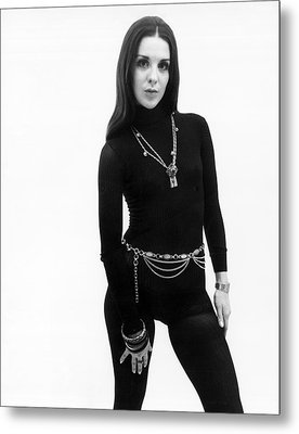 Hip 1970 Fashion Metal Print by Underwood Archives