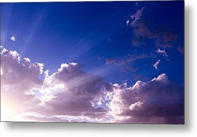 His Glory Metal Print