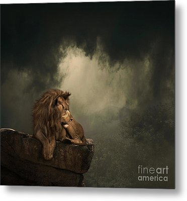His Kingdom Metal Print by Lynn Jackson