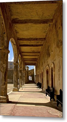 Historic Archways Metal Print