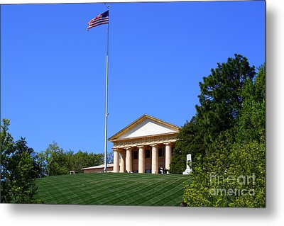 Historic Arlington House Metal Print by Patti Whitten