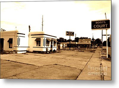 Metal Print featuring the photograph Historic Boots Court by Utopia Concepts