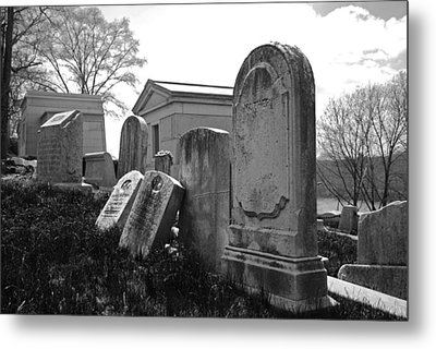 Historic Cemetery Metal Print by Jennifer Ancker