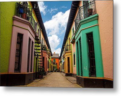 Historic Colorful Buildings Metal Print by Jess Kraft