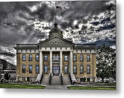 Historic Courthouse Metal Print by Jim Speth