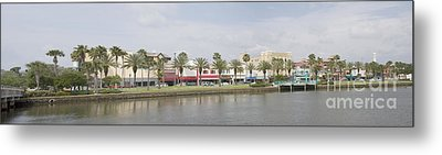 Historic Daytona Florida Pano Metal Print