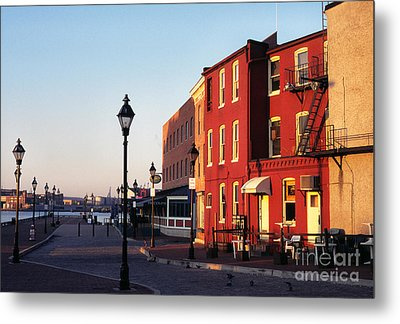 Historic Fells Point Metal Print by Thomas R Fletcher