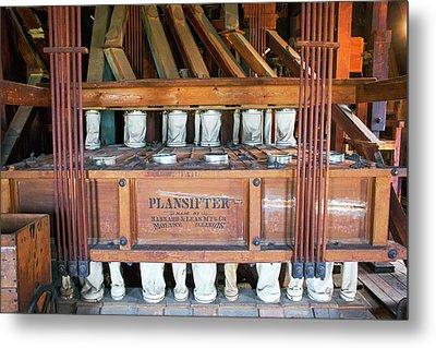 Historic Flour Mill Sifter Metal Print