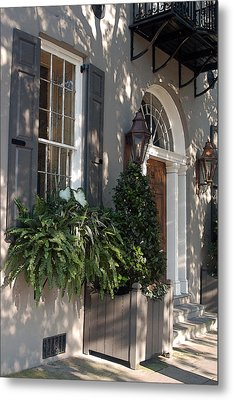 Historic Home - Charleston Metal Print by Suzanne Gaff