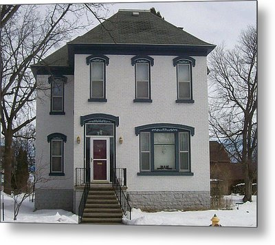 Historic Home Menominee Metal Print