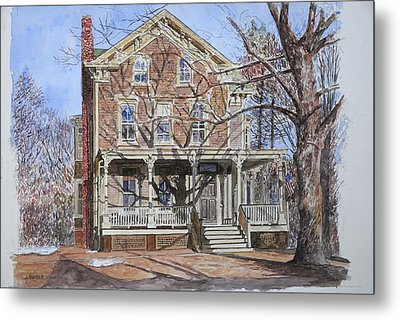 Historic Home Westifled New Jersey Metal Print by Anthony Butera