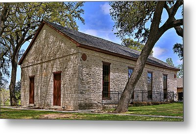 Historic Independence Baptist Church -- Texas Metal Print