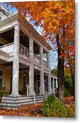 Historic Inn In Ashland Va Metal Print
