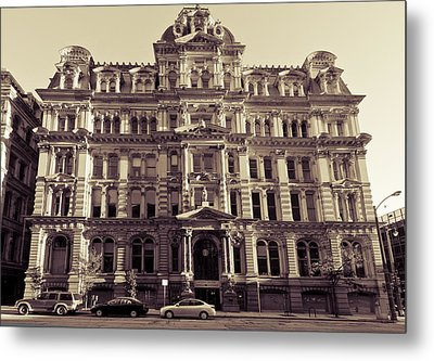 Historic Mitchell Building Metal Print by Anthony Sell