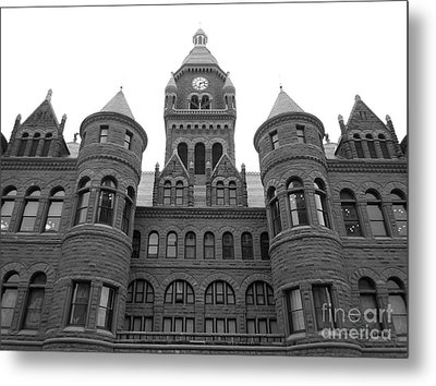 Metal Print featuring the photograph Historic Old Red Courthouse Dallas #2 by Robert ONeil