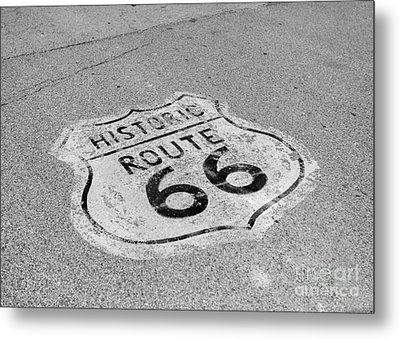 Historic Route 66 Metal Print by Kay Pickens