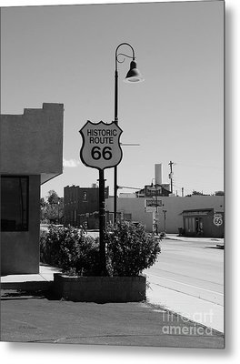 Historic Route 66 Metal Print by Mel Steinhauer