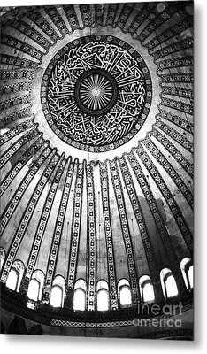 Historic Sophia Ceiling Metal Print by John Rizzuto