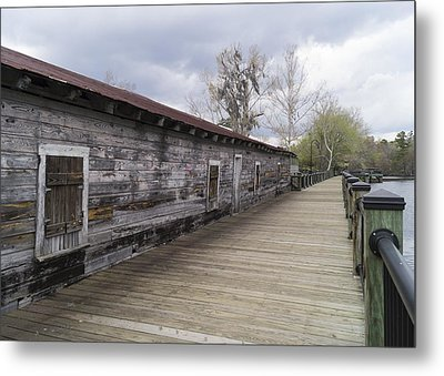 Historic Steamer Terminal On The Waccamaw River Metal Print