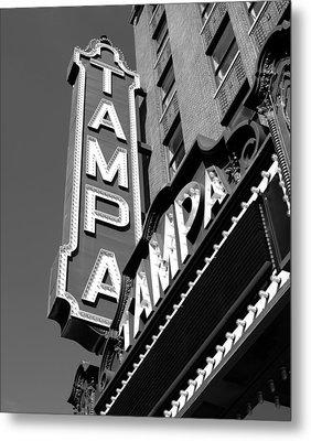 Historic Tampa Metal Print by David Lee Thompson