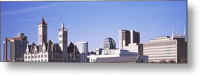 Historic Union Station Hotel Metal Print by Panoramic Images