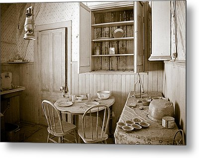 Historical American Home Metal Print by Celso Diniz