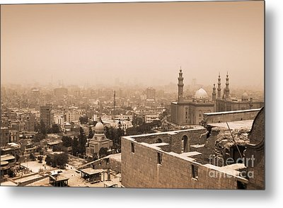 Metal Print featuring the photograph Historical Buildings Of Cairo by Mohamed Elkhamisy