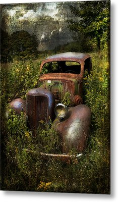 Historical Journey Metal Print by Evie Carrier