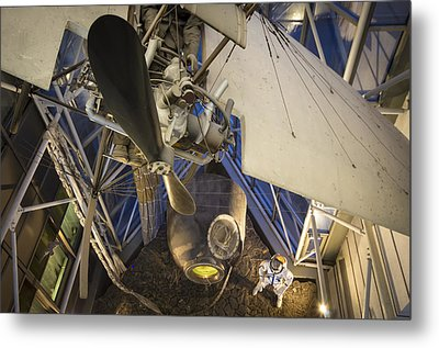 History Of Flight Metal Print by Akos Kozari