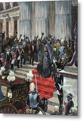 History Of Spain Metal Print