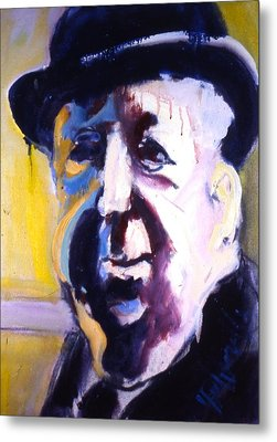 Metal Print featuring the painting Hitch by Les Leffingwell