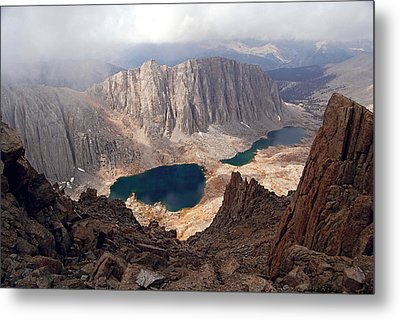 Hitchcock Lakes Metal Print by Baywest Imaging