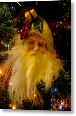 Ho Ho Ho Merry Christmas Metal Print by Al Bourassa