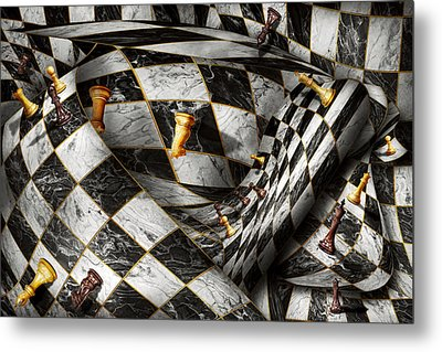 Hobby - Chess - Your Move Metal Print