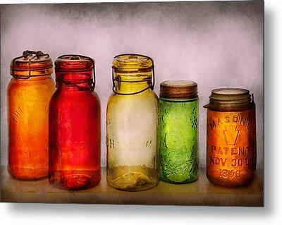Hobby - Jars - I'm A Jar-aholic  Metal Print by Mike Savad