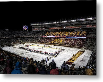 Hockey City Classic Metal Print